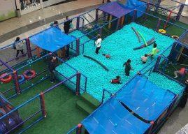 Labirintão chega ao Cantareira Norte Shopping para desafiar as crianças a passarem por obstáculos divertidos