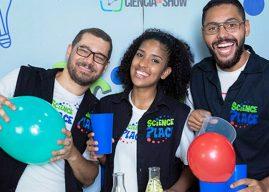 Shopping Pátio Guarulhos recebe espetáculo Ciência em Show