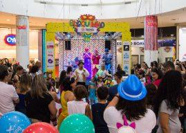 Bloquinho do Boavista Shopping anima folia em Santo Amaro