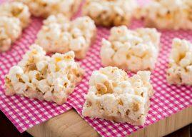 Barrinha de pipoca: como combinar pipoca e amendoim e transformar os snacks em um doce para saborear em frente à telinha