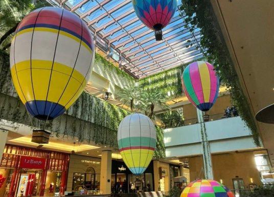 Passeio de Balão no Shopping Cidade Jardim