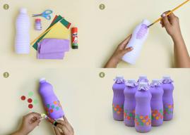 Crie brinquedo com itens reciclados para se divertir com as crianças
